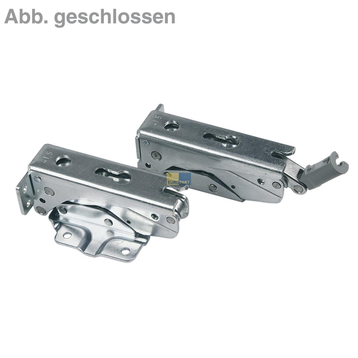 Reparatursatz Dämpfer Scharniere Liebherr 9590166 - ABEA ...
