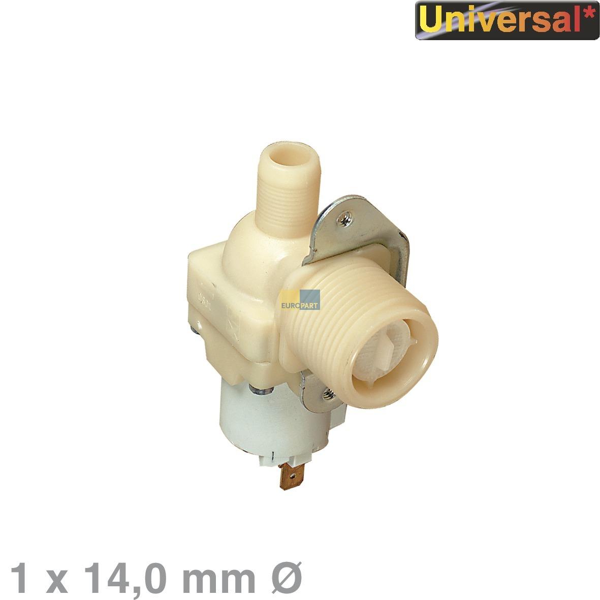 Universal! Magnetventil 1-fach 90° 14,0mmØ